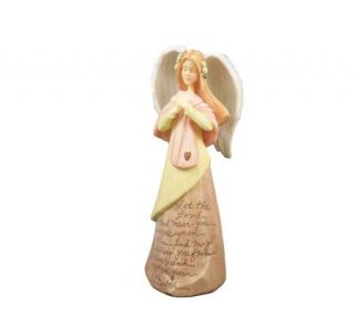 Enesco Foundations Healing Angel Figurine by Karen Hahn —