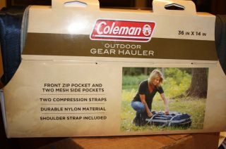 NEW COLEMAN OUTDOOR GEAR HAULER CAMPING HIKING SPORT DUFFLE BAG