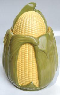 shawnee king corn ceramic cookie jar please  at the bottom of the