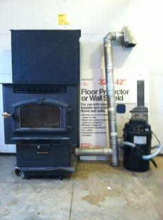 Pellet, Corn, Multi Fuel Stove 6039/Ash Vac/Vent pipe/Floor protector