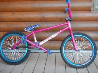 TOP OF THE LINE CUSTOM BMX BIKE IN MINT CONDITION
