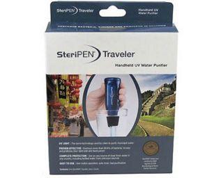 SteriPEN Traveler Pack Handheld Portable Water Purifier Camping Hiking