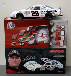 is for white nascar 29 kevin harvick 2001 monte carlo diecast model