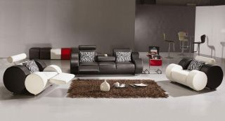 Vig Furniture 3088 Modern Black Living Room Furniture