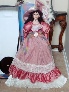 Ashley Belle Collection porcelain Doll, 884/1984→WORLDWIDE SHIP