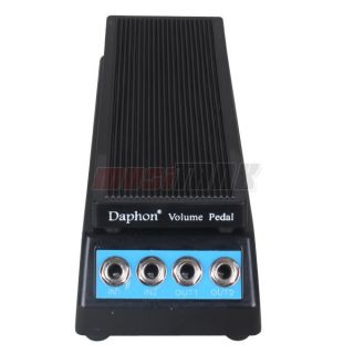 stereo sound volume pedal for electric guitar