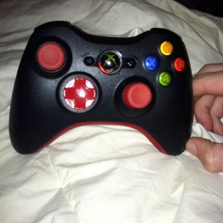 Xbox 360 Controller 10 Mod Red