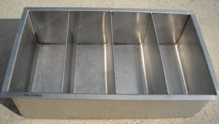 Stainless Steel Cup Lid Condiment Organizer