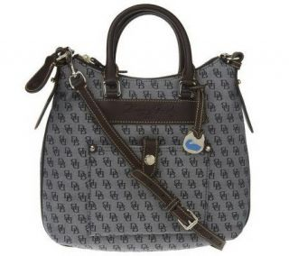Dooney & Bourke Signature Hobo with Detachable Crossbody Strap