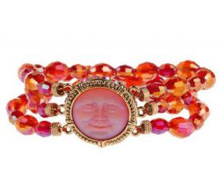 Kirks Folly Petite Dream Stone Large Stretch Sparkle Bracelet