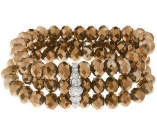Kirks Folly Magnificent Mile Stretch Bracelet —