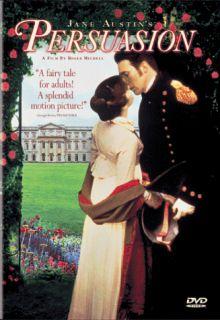 Jane Austens Persuasion DVD 2000 Corin Redgrave BRAND NEW SEALED