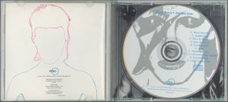 David Bowie Aladdin Sane Ryko CD 1990 Original 1st Pressing