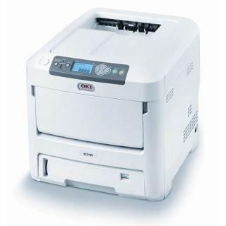 Oki C710N Workgroup Laser Color Printer Tesed Network Okidata Page