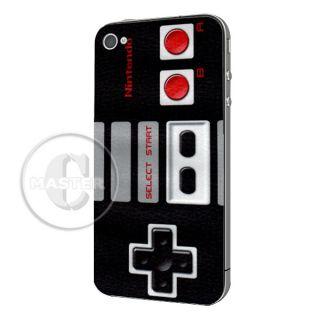 Face Off Sticker Nintendo Full Body Skin for iPhone 4
