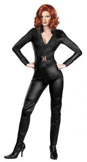 Marvel Avengers Black Widow Deluxe Adult Costume includes Black