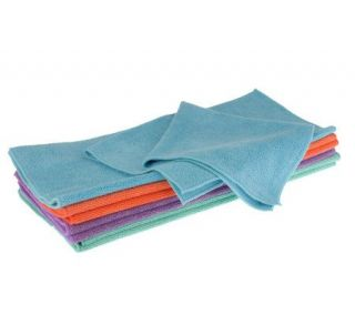 Don Asletts Set of 8 Multi purpose Microfiber Cleaning Cloths