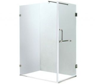 Vigo 36 x 48 Clear/Chrome Shower Enclosure