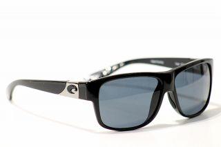 Costa Del Mar Sunglasses 680P Caye CY11 Black Shades