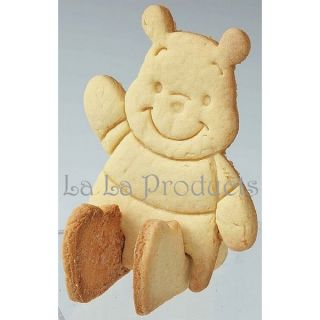Winnie The Pooh 3D Cookies Toast Cutter Stamps Molds