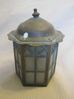 Antique Copper Outdoor Light