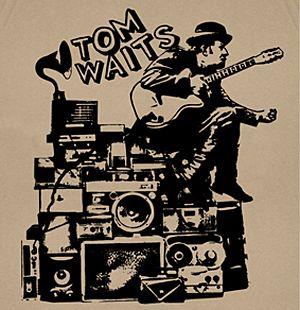 Tom Waits T Shirt Folk Rock Punk Jazz Vintage Retro Cool Tee