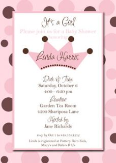 Bridal Baby Shower Invites Invitations Couples Wedding Shower