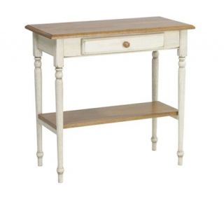 Country Cottage Solid Wood Foyer Table by Office Star —