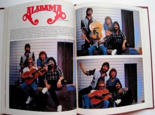 ALABAMA Country Music Band Concert Memorabilia Book 1981 Randy Owen