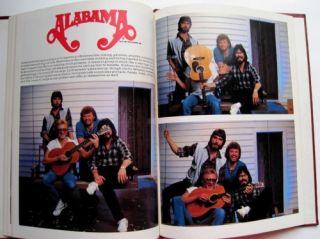 ALABAMA Country Music Band Concert Memorabilia Book 1981 Randy Owen
