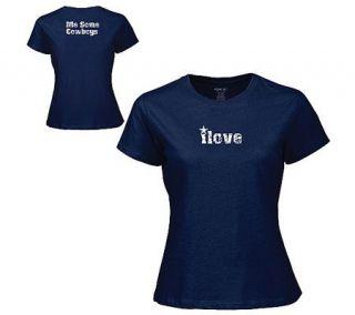 NFL Dallas Cowboys Womens I Love Me Some Cowboys T Shirt —