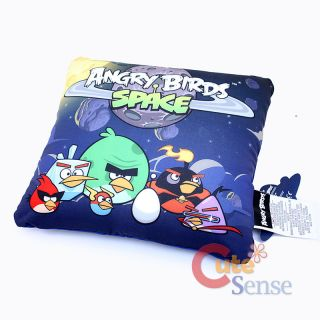 Angry Birds Space Group Plush Cushion Squishy Pillow Licensed