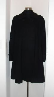 Coverups Dress Business Womens Coat Jacket Black Sz 10