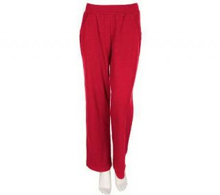 Sport Savvy Essentials Modern Waist Stretch French Terry Pants