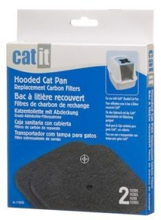 Hagen Carbon Filter for Covered Catit Cat Litter Box 2pk 50705