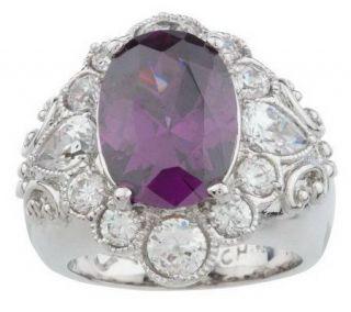 Priscilla Presley Aristocrat Oval Stone Ring —