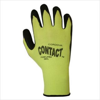 Cordova Hi Vis Lime Green Latex Glove Large HD3991L