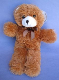 cousins brown description stuffed plush teddy bear from cuddly cousins
