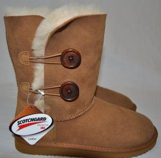 New Cozie Step Womens Australian Sheepskin Boots Chestnut