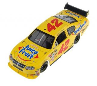 Juan Pablo Montoya 2008 #42 Juicy Fruit 124 Scale Car —