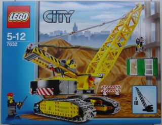 Lego 7632 Crawler Crane New Factory SEALED