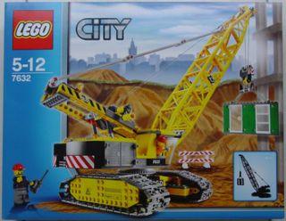 Lego 7632 Crawler Crane New Factory SEALED