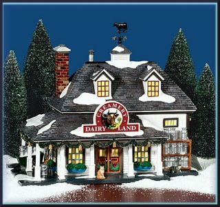 Dairy Land Creamery New UTube Department Dept 56 Snow Village D56 SV