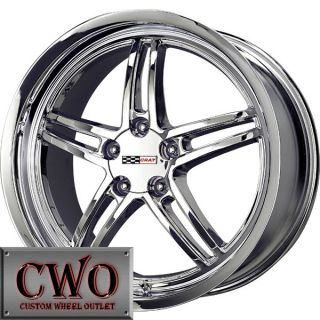17 Chrome Cray Scorpion Wheels Rims 5x4 75 5 Lug Chevrolet Chevy