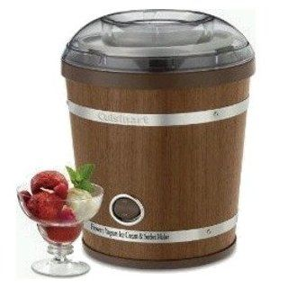 Cuisinart Ice 35 2 Quart Wooden Ice Cream Maker