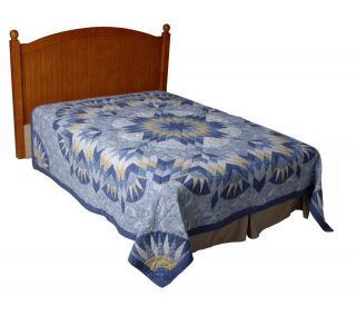 Country Living Belle Toile 100Cotton F/Q Size Quilt —