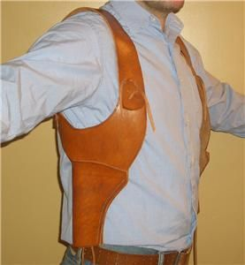 The Mummy Rick OConnell Leather Shoulder Holsters Prop Replica
