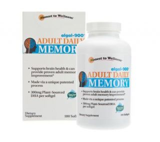 Adult Daily Memory Algal 900 DHA Dietary Supplement   A228271