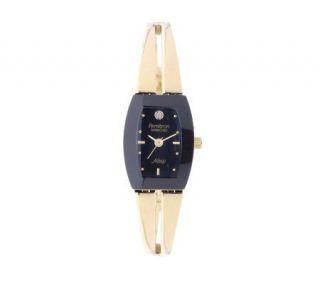 Armitron NOW Ladies Goldtone Bangle Dress Watch —