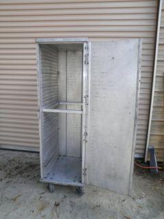 Crescor Hot Box Warm Food Holding Aluminum Storage Cabinet on Wheels